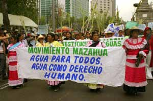 Estado de México: Mazahuas sin agua (Violencia contra la mujer)
