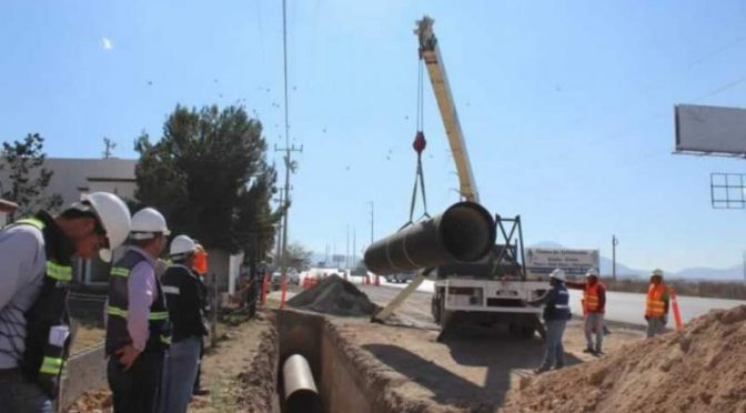 Coahuila: Vital que Agsal termine línea conductora de agua (El Diario)