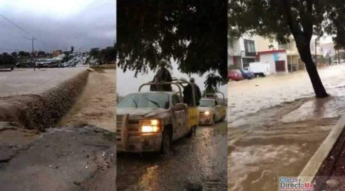 México: Inunda frente frío la zona noroeste (El Diario)