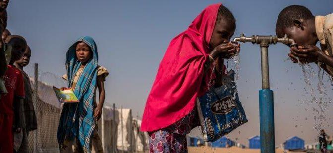 La ONU trabaja para combatir la escasez de agua, que afecta al 40 % de la población (Levantate)
