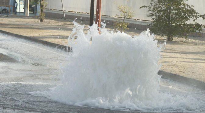 Pierde Hermosillo 40% del agua (El Imparcial)