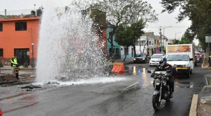 Se desperdicia 40% de agua por fugas en la CdMx: Sacmex (Aristegui Noticias)