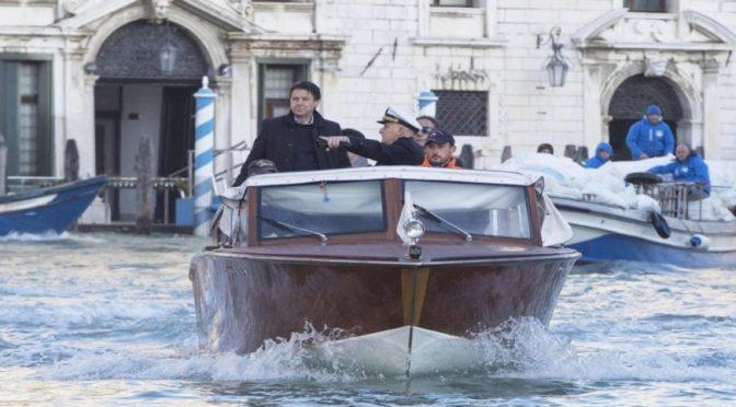 Italia: Venecia bajo el agua: Gobierno italiano declara estado de emergencia (Televisa)