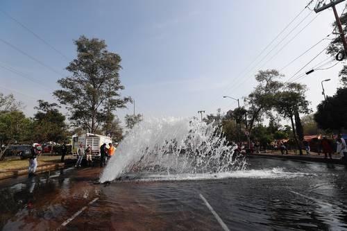 Trabajan en plan integral por carencia de agua en Tláhuac (La Jornada)