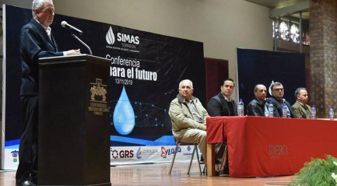 """Torreón: Ante estudiantes, imparten conferencia """"Agua para el futuro"""" (Noticias de el Sol de La Laguna)"""
