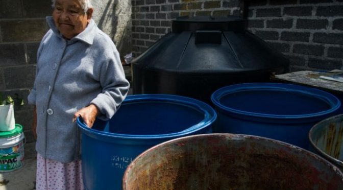 ¿Qué zonas de la CDMX enfrentan el desabasto de agua? (Dinero en Imagen)
