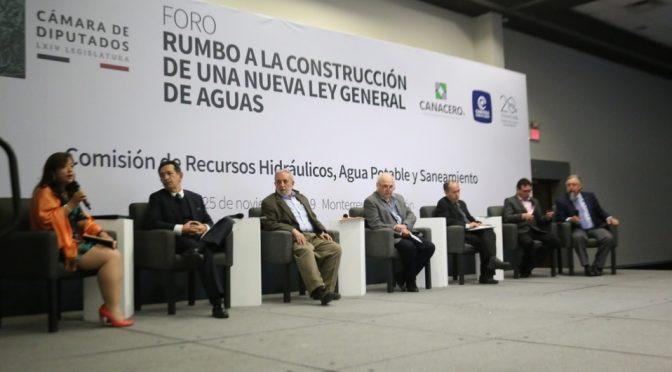 Plantean propuestas para integrarlas a la nueva Ley General de Aguas (Milenio)