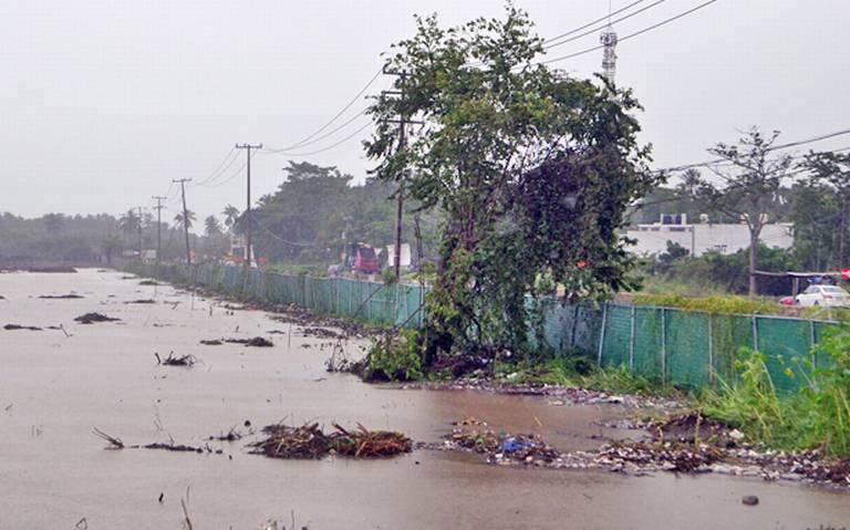 Tabasco: Devastadores, efectos del cambio climático (El Heraldo de Tabasco)