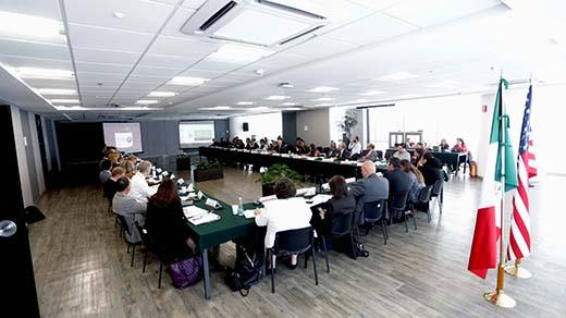 Reunión De Líderes Del Programa Ambiental México-Estados Unidos Frontera 2020 (Momento Diario)