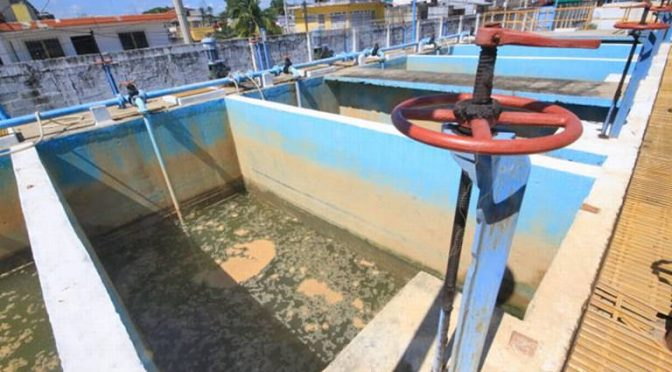 Villahermosinos sin agua potable (El Heraldo de Tabasco)