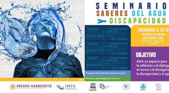 Seminario saberes del agua y discapacidad