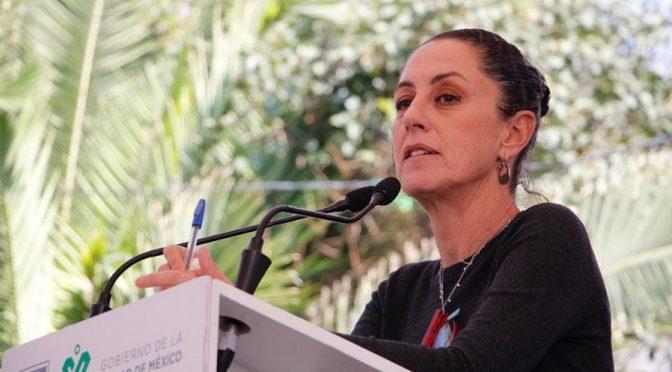 Sheinbaum pide perdón a Tláhuac por la falta de agua