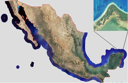 México: CONABIO genera nueva cartografía de la costa (VEME)