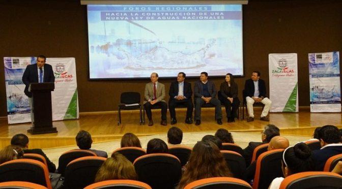 Zacatecas: Un compromiso del gobierno alcanzar el 98% al acceso del vital líquido: Luis Maldonado (Las noticias ya)