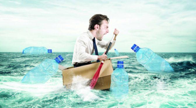 Crisis climática: Aguas turbulentas, el mar de plástico (Vanguardia)