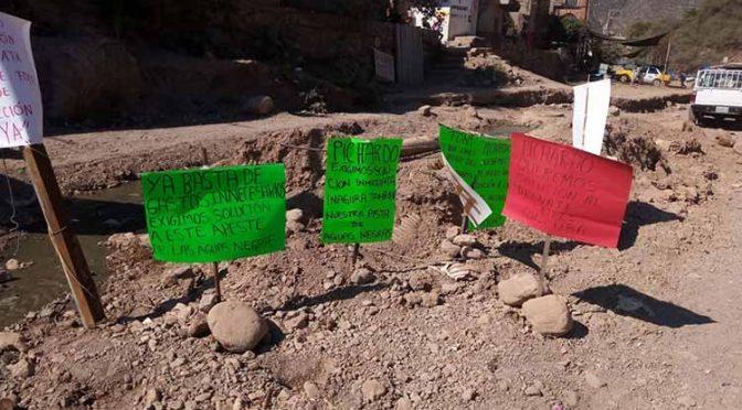 Guerrero: demandan colonos de Tlapa reparar desagüe de aguas negras (La Jornada de Guerrero)