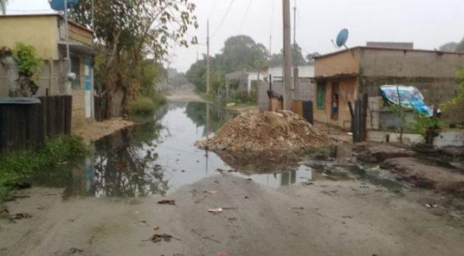 Tabasco: Sobreviven 30 familias entre la suciedad (Tabasco Hoy)