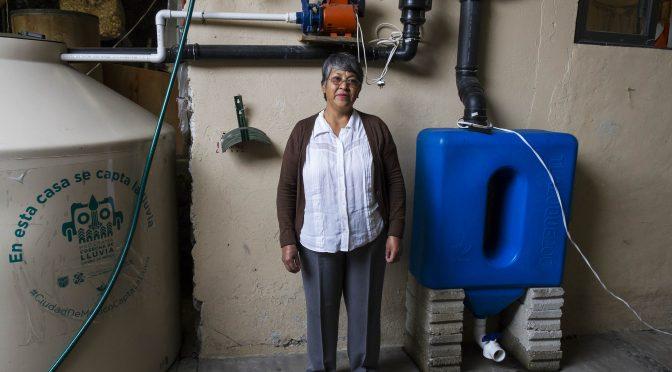 CDMX: Más de 9 mil personas ya cosechan la lluvia (Secretaría del Medio Ambiente)