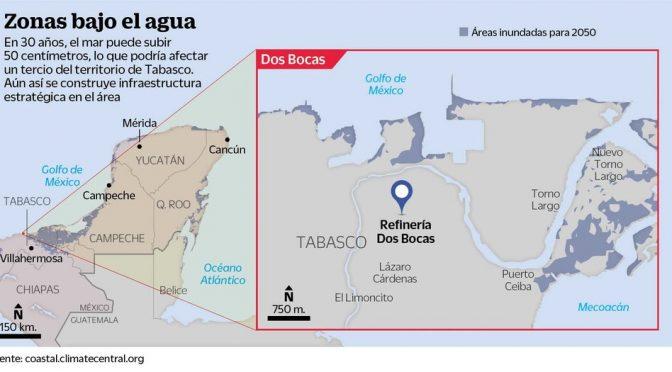 México: Unos 55 millones de personas 'bajo el agua' para 2050 (El Siglo de Torreón)