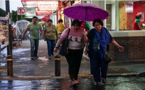 CDMX: Prevén lluvias de muy fuertes a intensas en Puebla, Veracruz y Oaxaca (El Universal)