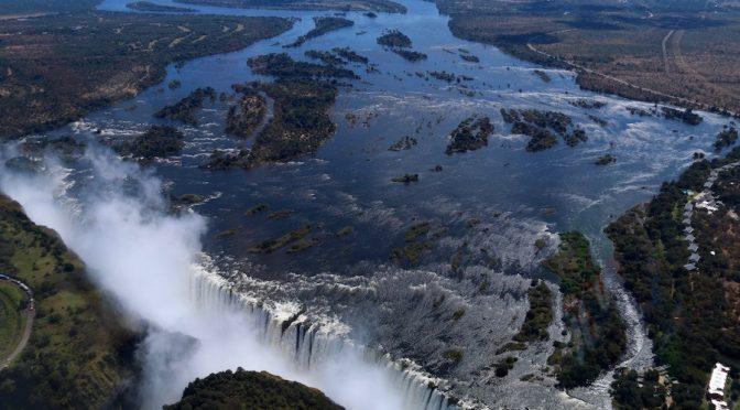 África: Cataratas Victoria pierden caudal y alientan el temor al cambio climático (Capital)