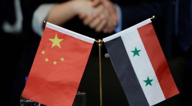 China reconstruirá la mayor planta de tratamiento de aguas en Siria (Prensa Latina)