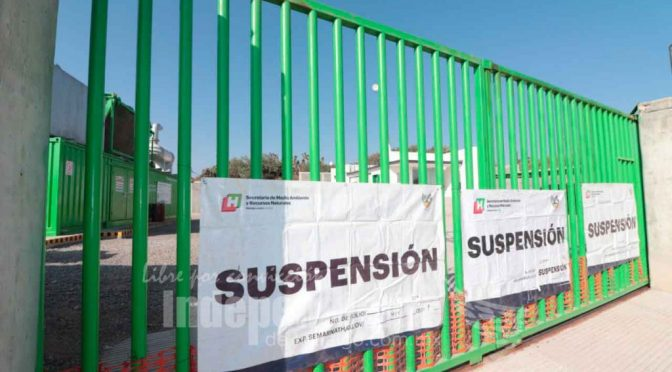 Hidalgo: Clausura Semarnath planta en el Huixmí (El Independiente de Hidalgo)