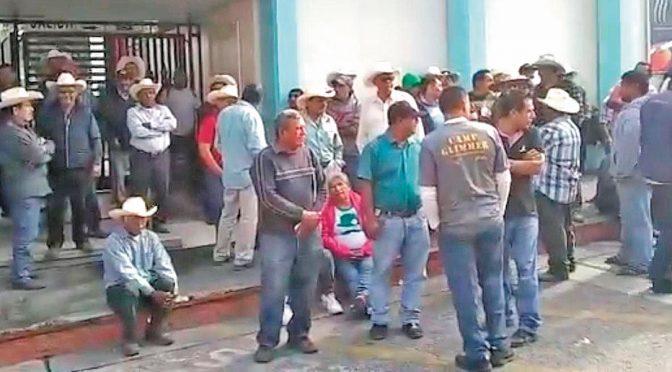 Morelos: Protestan ejidatarios en Agua Hedionda (Diario de Morelos)