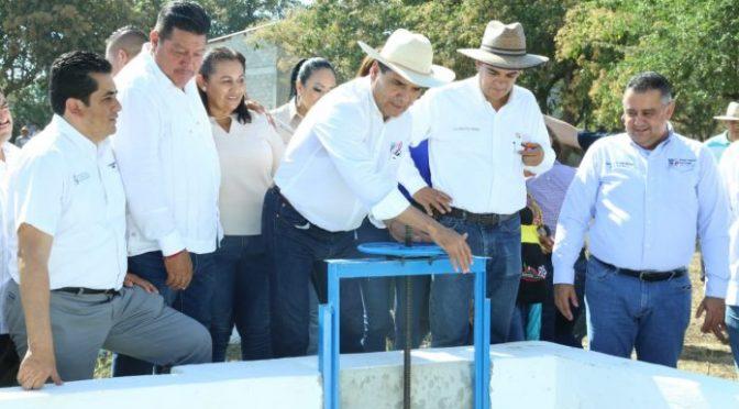 Michoacán: Inaugura Gobernador obras hídricas por 34 mdp en Gabriel Zamora (El Clarin)