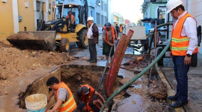 Mérida: Se tiraban al día un millón 37 mil litros de agua (Diario de Yucatán)