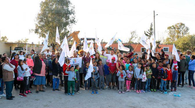 Guanajuato: arranca obra de agua potable en El Aposento (Periódico Correo)