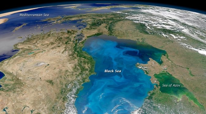 Europa: La alarmante contaminación del mar Negro  (Primicia)