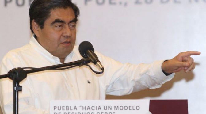 Puebla: El retiro de la concesión de agua iniciará con reformas legislativas: Barbosa (24 horas)