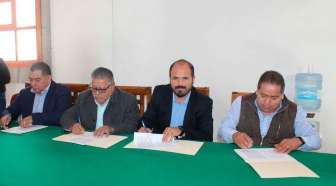 Tlaxcala: Santa Cruz firmó convenio para sanear el agua del Río Zahuapan (abc)