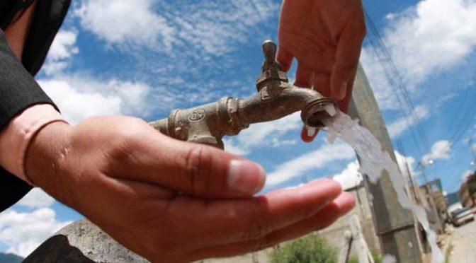 En Fresnillo aumentan las tarifas del agua (NTR)