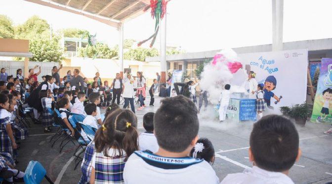 Morelos: Enseñan a los niños a cuidar el agua (La unión)