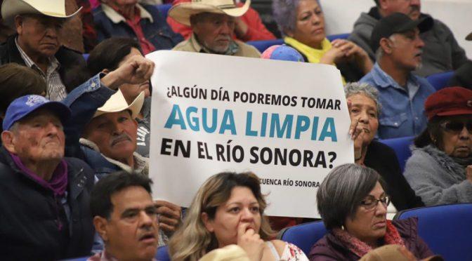 Sonora: Pobladores consumen agua con metales pesados, confirma Semarnat (Pie de Página)