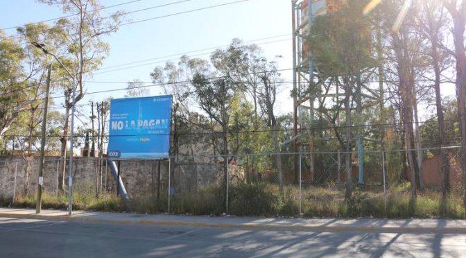 San Luis Potosí: Interapas desperdicia agua, en Las Lomas (El Sol de San Luis)