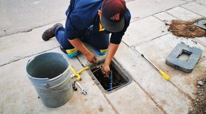 Nogales: Se quedan sin servicio de agua (El Imparcial)