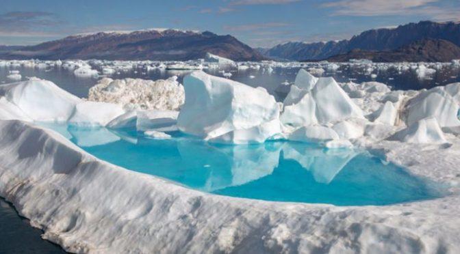 Timelapse muestra la desaparición de un lago en Groenlandia (National Geographic)