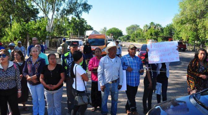 Sinaloa: Más de 30 días sin agua… (Debate)