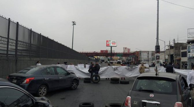 CDMX: Por segundo día, vecinos bloquean Avenida Central (Milenio)