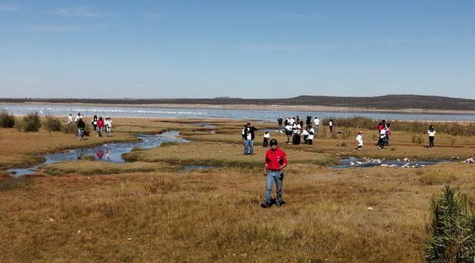 Zacatecas: Limpian Laguna de Santa Ana (NTR)