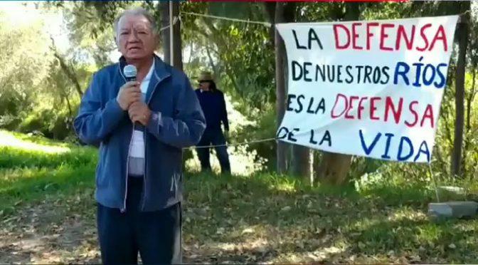 Tlaxcala: UNAM toma muestras en río Zahuapan para medir contamianción con metales pesados (Urbano)