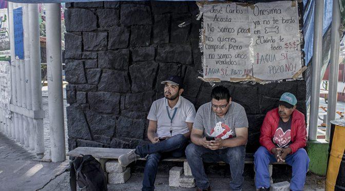 CDMX: Saquear y secar: el despojo de agua en Xochimilco (Chiapas Paralelo)