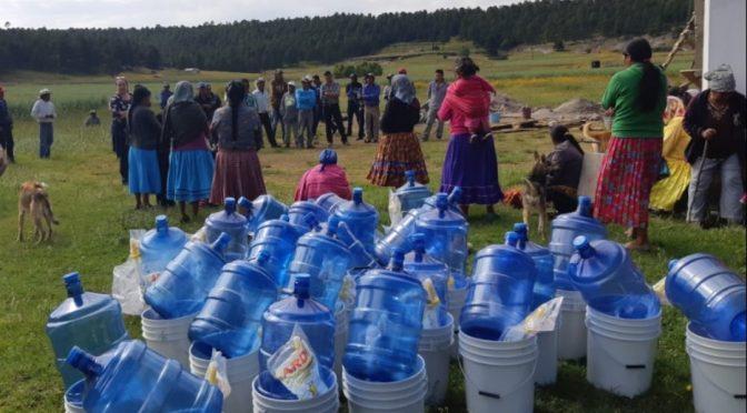 Chihuahua: Lleva JCAS planta potabilizadora móvil a comunidades inundadas en Chínipas (Pausa.mx)