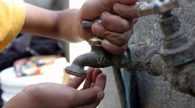 CDMX: Advierten por desabasto de agua en 2020 (Milenio)