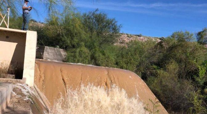 Sonora: Aplica UMPC protocolos de prevención de riesgos durante el trasvase de agua de presas (Canal Sonora)