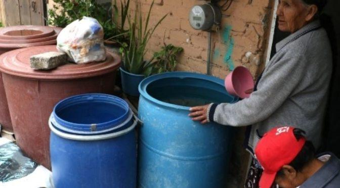 MAPA: Colonias de Iztapalapa que no tendrán agua en enero de 2020 (El Heraldo de México)