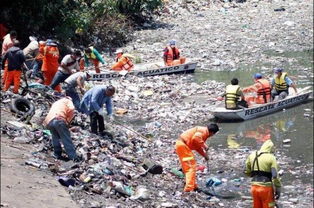 CDMX: Llegan aguas negras a presa de A. Obregón (Diario Basta)